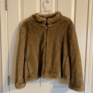 Faux Fur Coat Teddy Coat